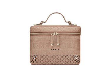 حقيبة Travel Vanity Case بقماش الـ Mesh